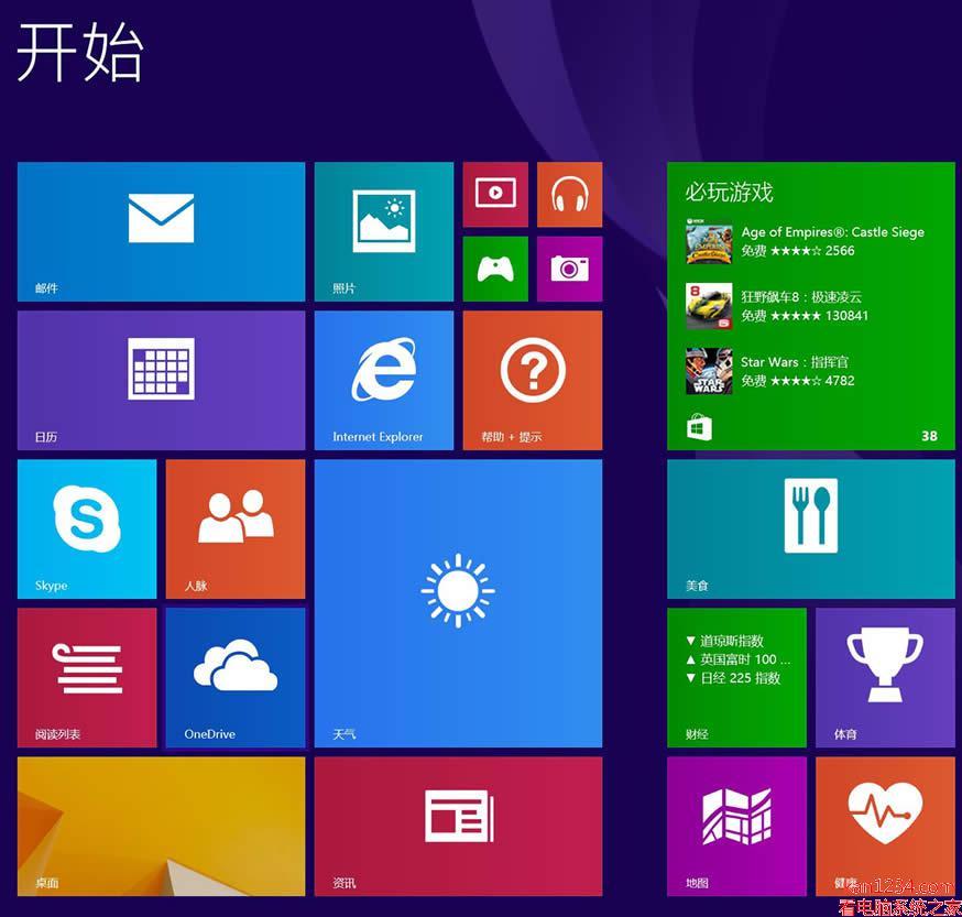 windows8.1 64位专业版简体中文版_繁体中文版_英文版_原版iso镜像下载